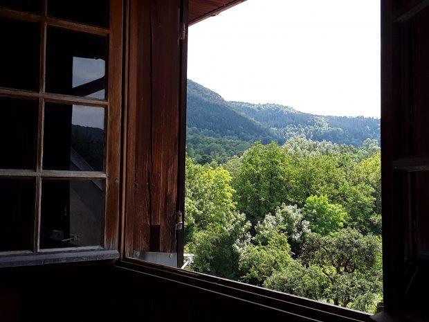 Hébergement avec vue sur la Vallée du Lison