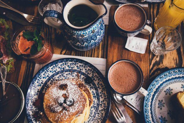 Petit déjeuner, bed & breakfast